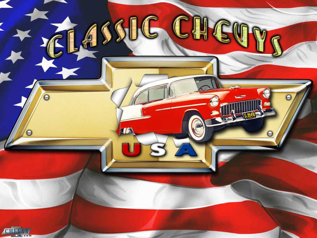 Free classic chevys usa wallpapers for Wallpaper home depot usa